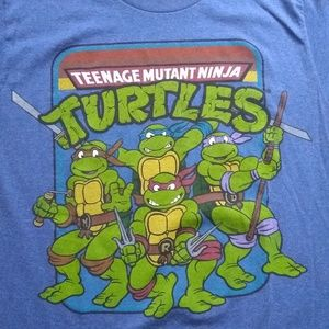 Ninja Turtles mens tshirt